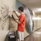 Mural Honors Emma Dryer's Legacy