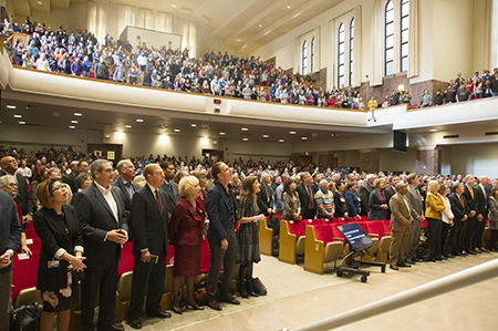 Chapman Center Dedication Ceremony - Worship
